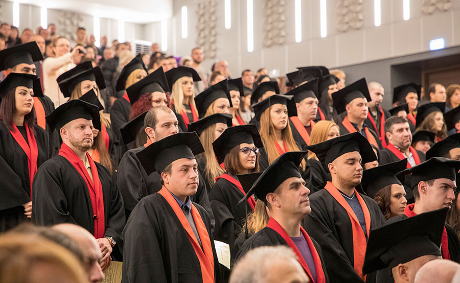 завършилите своето образование студенти от Аграрния факултет на Тракийския университе