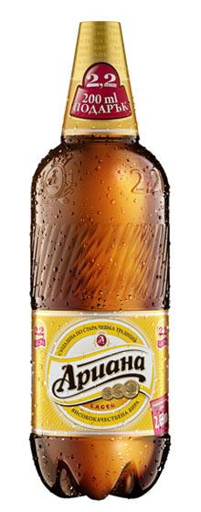 Ариана нова бутилка 2 литра