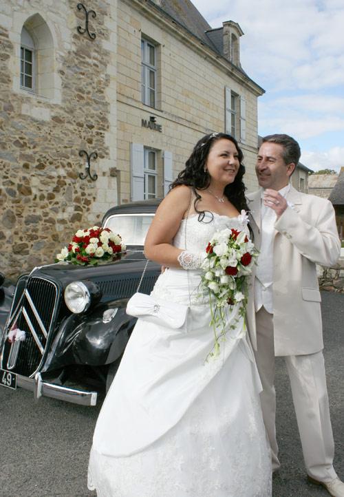младоженци в Париж