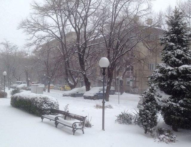 сняг Ст Загора