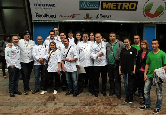 Шефс клуб - Стара Загора са кулинарният вицешампион на България