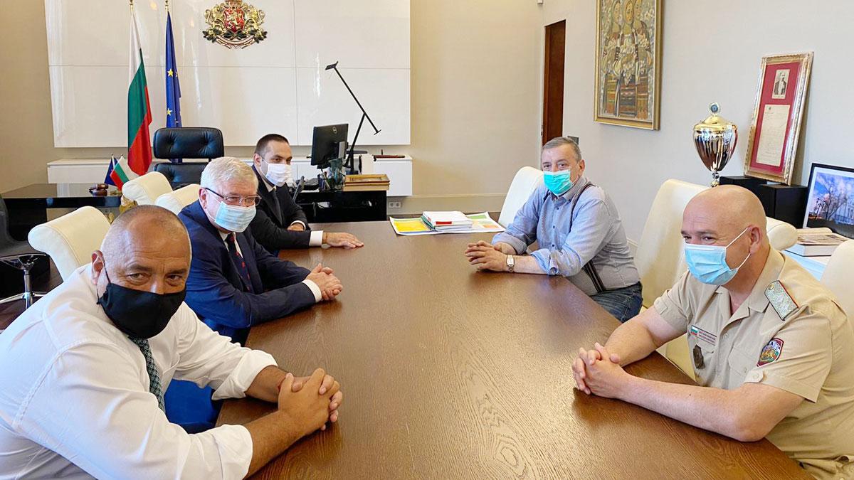 Министър-председателят Бойко Борисов проведе работна среща с Националния оперативен щаб
