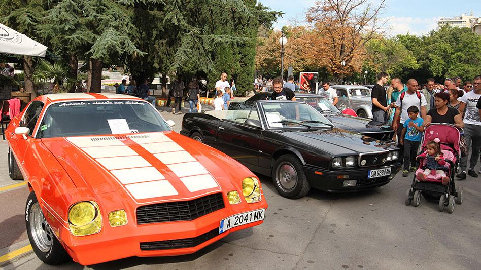 Ретро парад Стара Загора