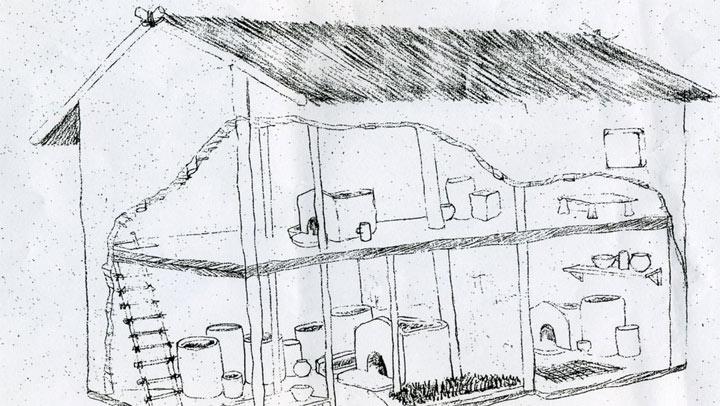 неолитни жилища Стара Загора