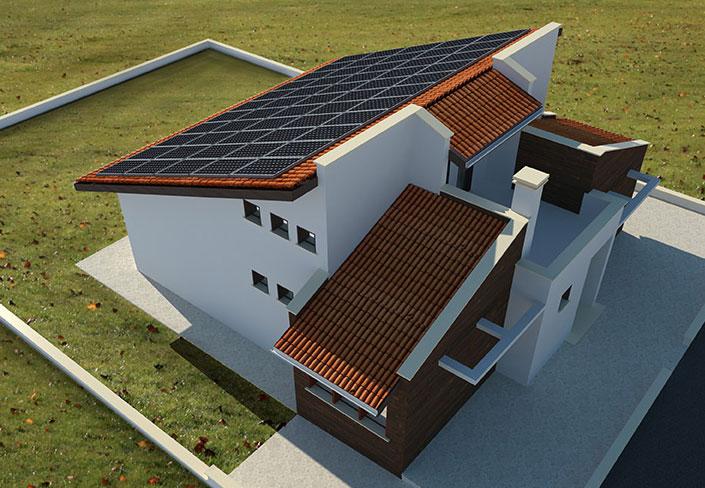 Невен-ЗИГ Солар енергийно независим дом