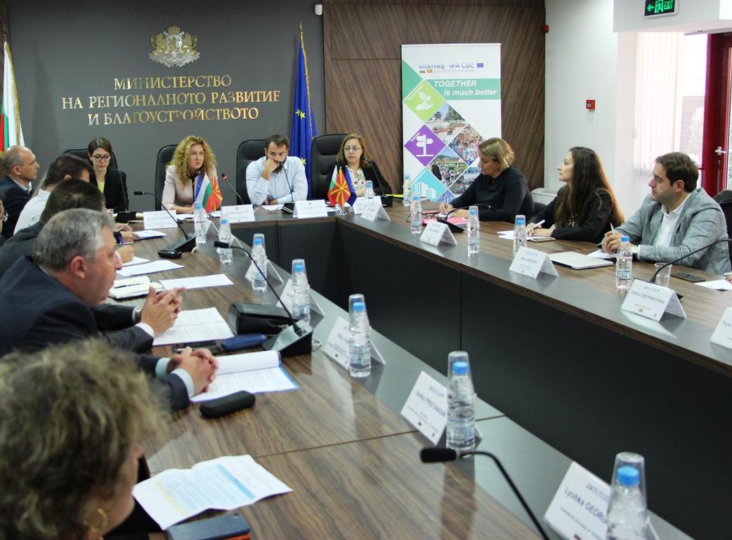 Изграждането на нов граничен контролно-пропускателен пункт между Република България и Република Северна Македония