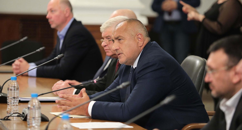 Пресконференция на министър-председателя Бойко Борисов