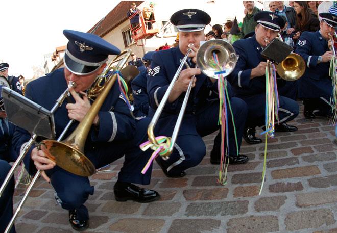 Оркестърът на военновъздушните сили на САЩ в Европа
