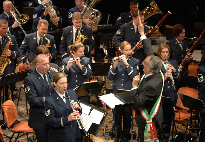 Оркестърът на военновъздушните сили на САЩ в Европа ще гостува в Стара Загора