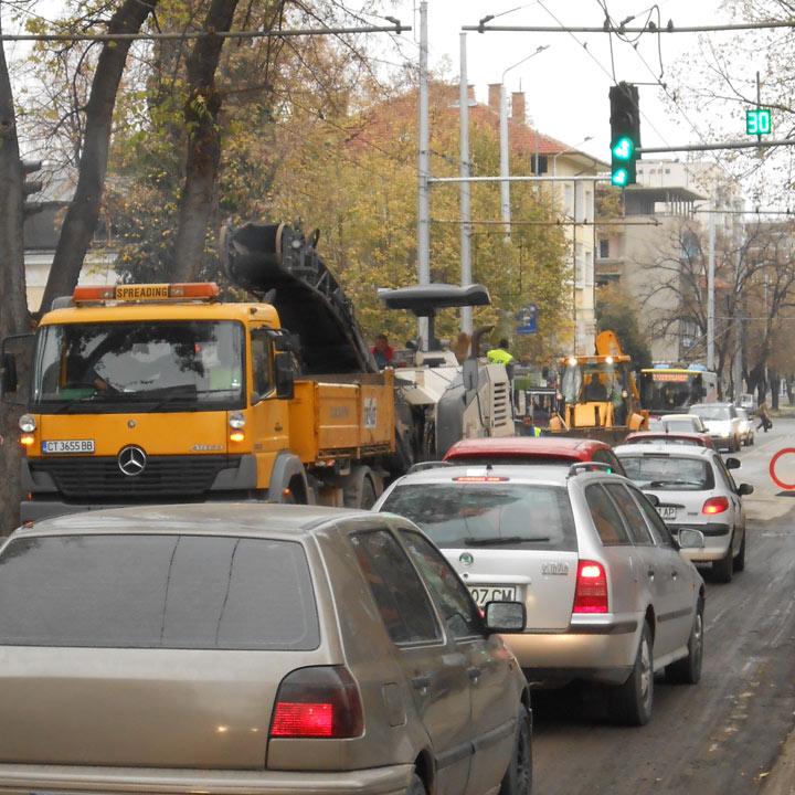 Ограничава се движението по улица Ген. Гурко в Стара Загора