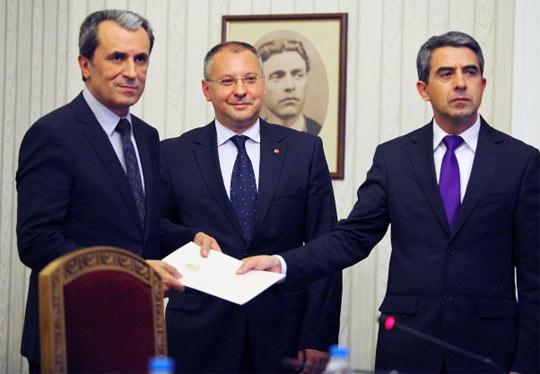 Пламен Орешарски номиниран премиер мандат съставяне правителство