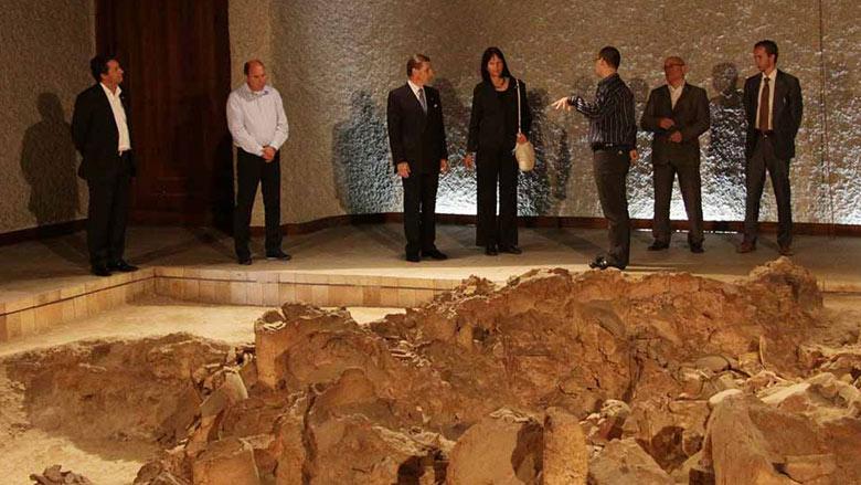 Посланикът на Конфедерация Швейцария НП Регине Ешер посети Стара Загора неолитни жилища
