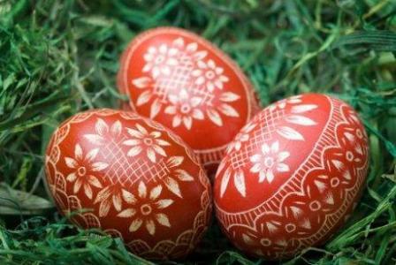 писани яйца