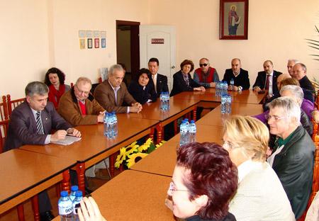 Среща в Дома за медико-социални грижи за деца в Стара Загора