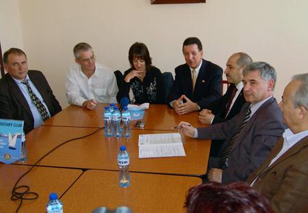 Пресконференция с ръководствата на двата Ротари клуба и на Дома в Стара Загора