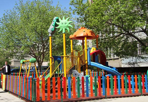 Детски площадки в Стара Загора, отговарящи на европейски стандарти