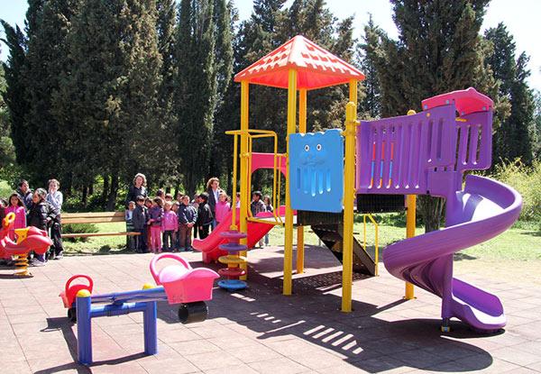 Детски пощадки в Стара Загора