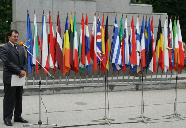 Областният управител на Стара Загора Недялко Недялков отправи приветствие по повод Деня на Европа