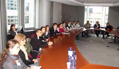презентацията на програма Еразъм