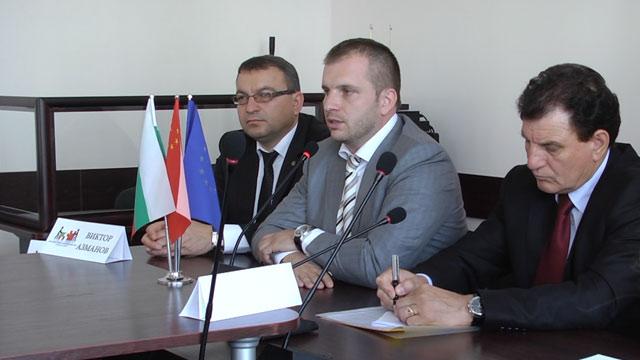 Българо-китайската търговско-промишлена камара - среща в залата на Областна управа на Стара Загора